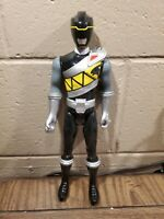 Power rangers Dino Charge Black Ranger 12 Inch Action Figure