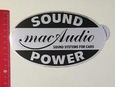 Aufkleber/Sticker: Sound Power - Mac Audio Sound System For Cars (280416116)