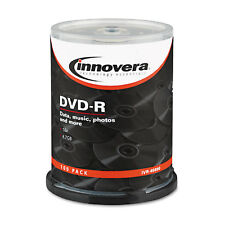 Innovera DVD-R Discs 4.7GB 16x Spindle Silver 100/Pack 46890