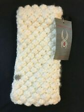 Spyder BRRR BERRY White One Size Sweater Headband