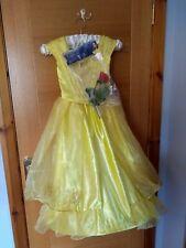 Disney Beauty and the beast Belle fancy dress costume age 5-6