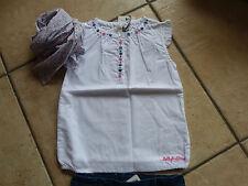 Mädchen-Tops, - T-Shirts & -Blusen ohne Kragen aus 100% Baumwolle mit Bestickung