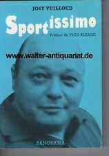Nachlass Fußball Bundestrainer Jupp Derwall Josy Vuilloud SIGNIERT + Widmung