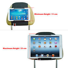 TFY Universal Car Headrest Mount Holder for 7-11 inch Tablet PCs