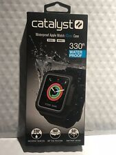 Catalyst - Band & Case for Apple Watch™ 42mm Series 2 & Series 3 - Stealth Black