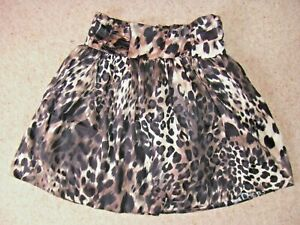 Gorgeous Black & Brown Animal Print Skirt from Atmosphere - Size 10 - BNWOT!!