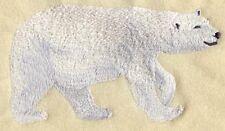 Embroidered Fleece Jacket - Polar Bear Walking M2033 Sizes S - Xxl