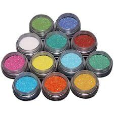 12 Colours Glitter Dust Powder Nail Art Tips Decoration DIY Card Book Make up