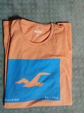 Vintage Hollister  Mens T Shirt Ca  1922   Orange XL