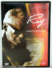 DVD RAY GENIUS - A Night For Ray Charles