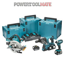 Makita DLX3049PTJ 3 Piece Twin 18v LXT MakPac Combo Kit