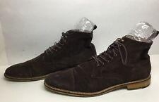 VTG MENS BANANA REPUBLIC CASUAL SUEDE BROWN SHOES SIZE 13 M