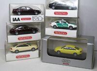 Wiking 1:87 Audi A6 - Avant - A4 Cabrio - Q7 - TT Roadster OVP zum auswählen