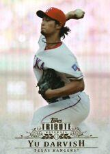 2013 Topps Tribute #72 Yu Darvish - Texas Rangers