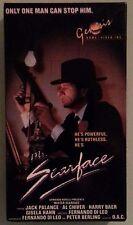 jack palance  MR SCARFACE al chiver   VHS VIDEOTAPE genesis home video