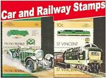Car and Railway Stamps