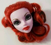 MONSTER HIGH DOLL DANCE CLASS OPERETTA PURPLE HEAD ONLY FOR REPLACEMENT OR OOAK