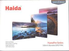 Haida NanoPro 100mm x150 MC Reverse Grad ND 1.2 4 Stop Optical Glass Filter ND16