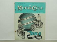February 1952 THE MOTORCYCLE Magazine BSA 650 125b Trial L8338