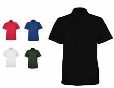 Mens Classic Polo T Shirts Size XS to 4XL BREATHABLE SPORTS WORK / UNEEK 105