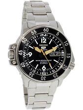 Seiko Men's Automatic SKZ211K Black Stainless-Steel Self Wind Fashion Watch