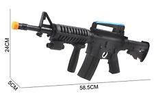 M16 toy assault rifle, kids toy gun set SWAT Team M16 Gun Sharp Shooter Toy Gun