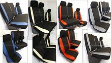 VW Transporter T5 Mini Bus Seat Covers- Made to Measure- 8 -9 Seater