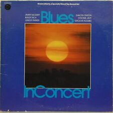 VARIOUS ARTISTS 'BLUES IN CONCERT - GROOVE GIANTS' US IMPORT DOUBLE LP