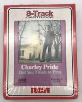 Charley Pride Did You Think To Pray 1971 8 Track Tape