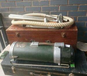Vintage Electrolux Z25 vacuum cleaner in original wooden box 1934