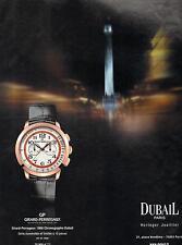▬► PUBLICITE ADVERTISING AD Montre Watch GIRARD-PERREGAUX Dubail horlogerie