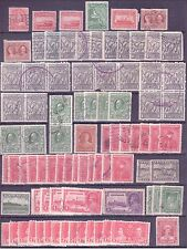 Newfoundland Stamps F-VF Cancels Set of 85 many duplicates