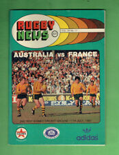 #D356. Rugby Union News 11th July 1981, Australia Vs France