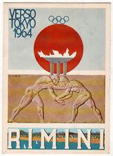cartolina RIMINI verso tokyo 1964