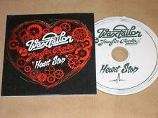 RARE CD PROMO 5 TITRES / WAX TAYLOR FEAT. JENNIFER CHARLES / HEART STOP / TR B E