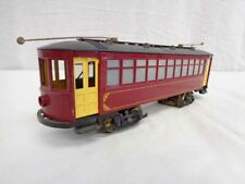 Bowser Red O Scale Trolley