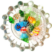 Murano Glass Sweets Wedding Christmas Party Holiday Candy Decoration Acces
