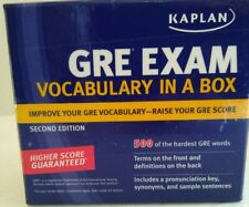 Kaplan GRE Exam Vocabulary in a Box Cards 2nd Edition! NEW!