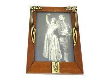 Extravagant Art nouveau Frame um 1900 Wood Bronze Photo