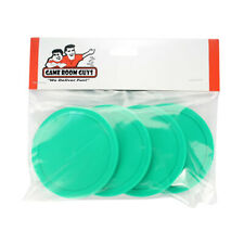 "Air Hockey Table Pucks - Green - 3-1/4"" - Set of 4"