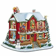 Disney Illuminated Story House Sculpture: Twas The Night Before Christmas