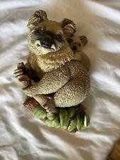 Koala Bear Bossons Head Decorative Chalkware.