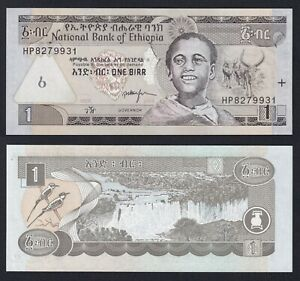 Etiopia 1 birr 2008 FDS/UNC  A-04