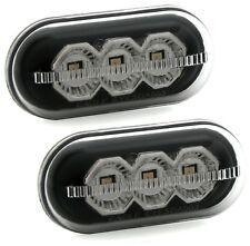 LED SEITENBLINKER für RENAULT / OPEL / DACIA / NISSAN in SCHWARZ SMOKE Blinker
