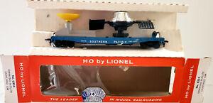 Lionel 0333 HO  SP Operating Satellite Launching  Car  Likenew Box Insert 1960