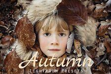 50 Autumn Lightroom Presets collection Photoshop VSCO Mobile Desktop Instagram