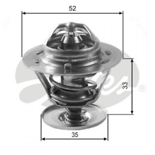 Thermostat, Kühlmittel GATES TH12588G1
