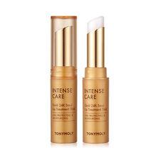[TONYMOLY] Intense Care Gold 24K Snail Lip Treatment Stick - 3.5g / Free Gift