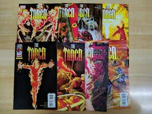 THE TORCH #1-8 by Marvel Comics & Dynamite Entertainment (2009). Eight book set