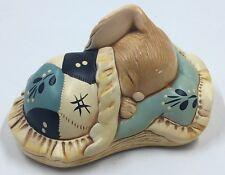 Vintage Pendelfin Snuggles Bunny Figurine Hand Painted Stonecraft 4�